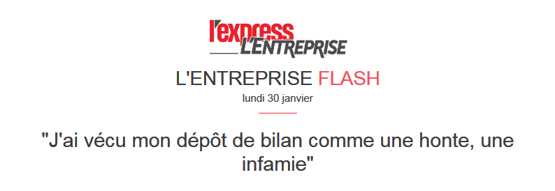 Confidences au journal L'Express