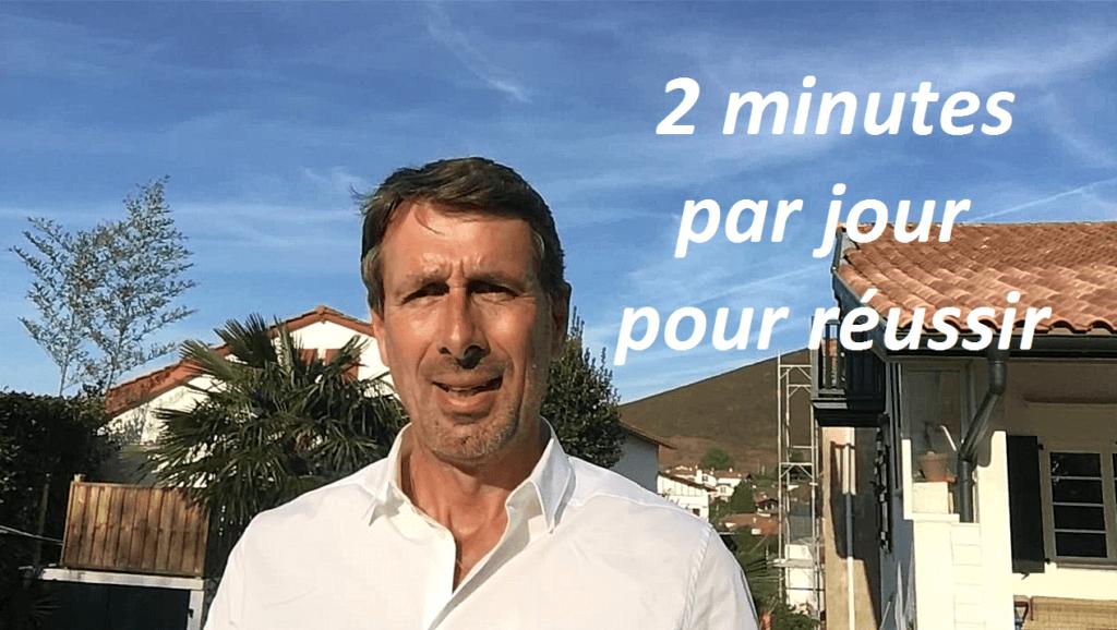 2 minutes par jour pour réussir votre projet
