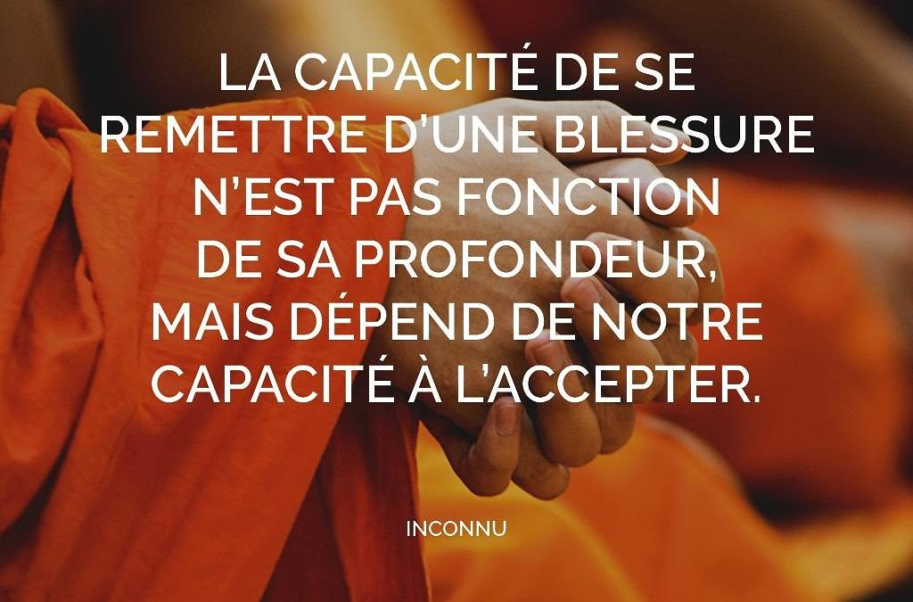 Accepter nos imperfections