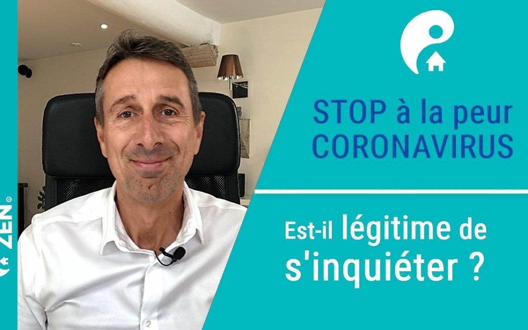 Stop à la peur avec le Coronavirus