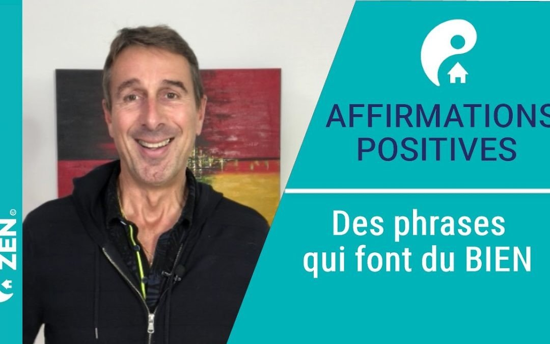 Des affirmations positives qui font du bien
